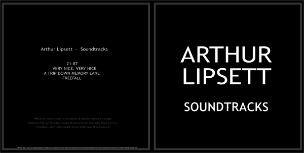 ARTHUR LIPSETT - SOUNDTRACKS - GLOBAL A
